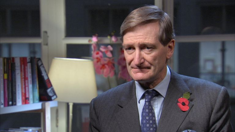 Dominic Grieve told Sky News he was concerned about Boris Johnson's fitness for office