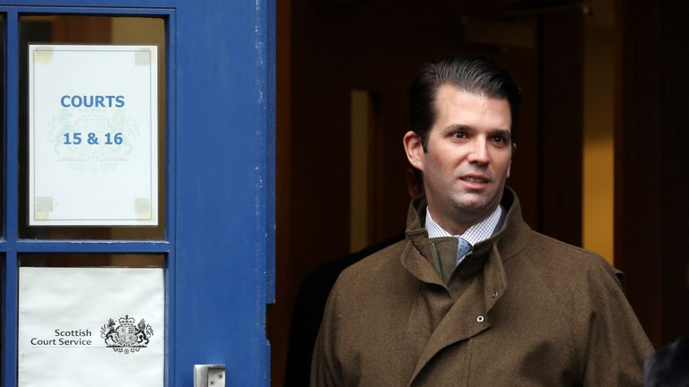 Donald Trump Jr has tweeted a post that includes a link to an article which published the name of the alleged whisteblower