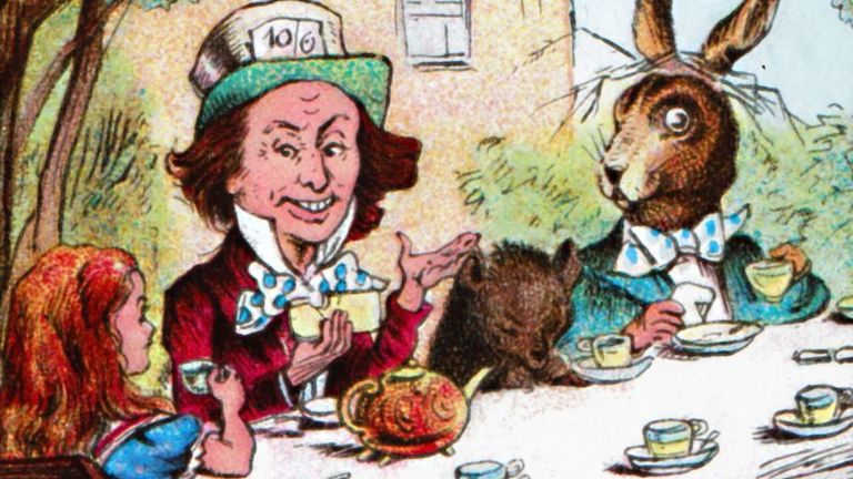 A sleepy Dormouse is famously a character at the Mad Hatter's tea party in Alice In Wonderland