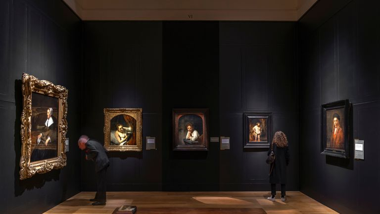 The Rembrandt's Light exhibition. Pic: Dulwich Picture Gallery