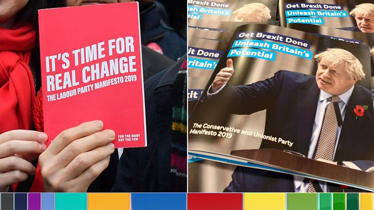 Labour and Conservative manifestos