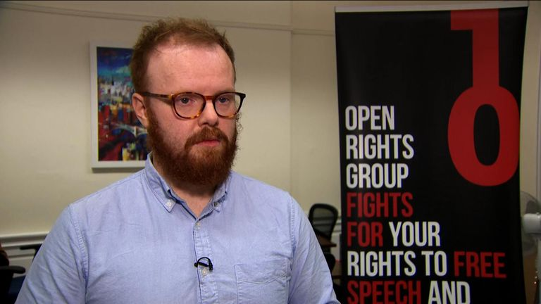 Matthew Rice, Scotland director of Open Rights Group, found lots of incorrect information about himself