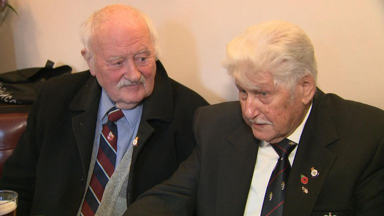 War veterans in Wolverhampton have their say on who they will be voting for in the General Election.