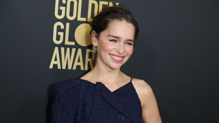 Game Of Thrones star Emilia Clarke