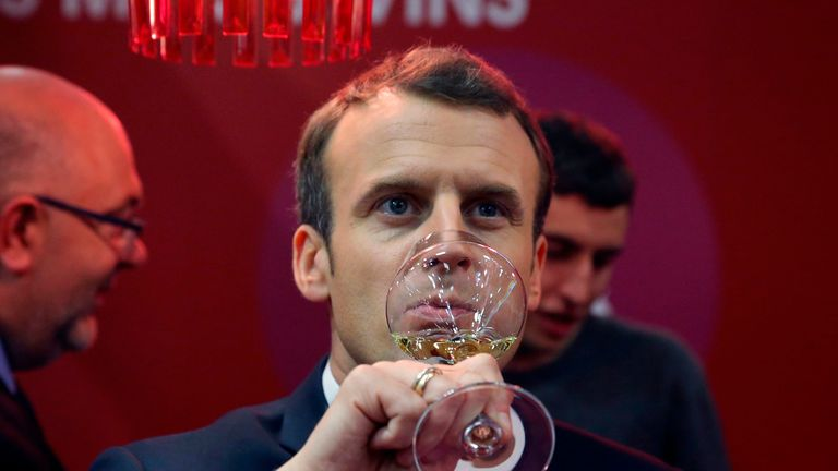 The French president is said to have opposed having an alcohol-free January