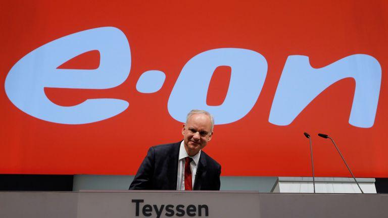 Johannes Teyssen, CEO of German utility E.ON