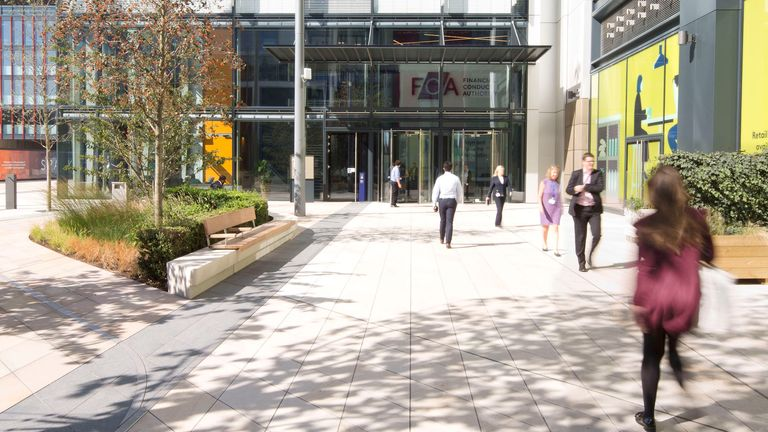 The FCA moved into its Endeavour Square premises in 2018. Pic: FCA