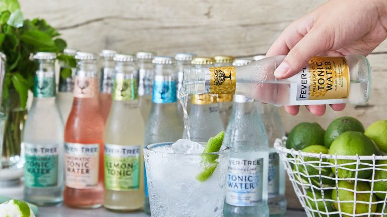 Fever-Tree, launched in 2005, produces a range of tonics and mixers and has expanded beyond its core UK market. Pic: Fever-Tree
