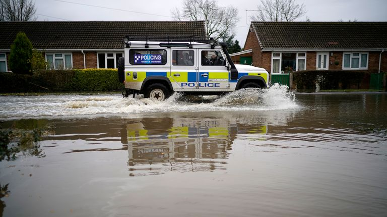 Flooding in Doncaster. File pic