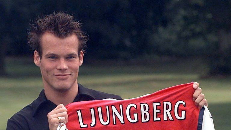 Freddie Ljungberg was one of Arsenal's star signings in the 1990s