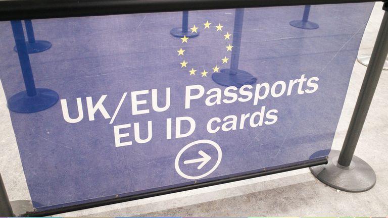 Free movement immigration UK EU Brexit