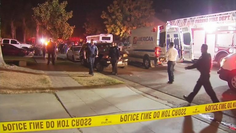 Four killed in shooting in Fresno, California