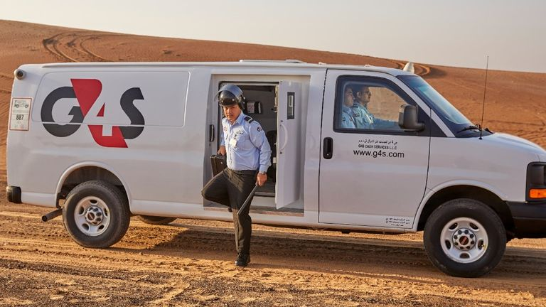 G4S is understood to employ 18,000 staff in the UAE and Qatar. Pic: G4S
