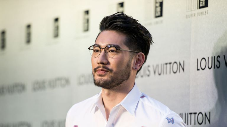 Godfrey Gao became Louis Vuitton's first Asian male model in 2011
