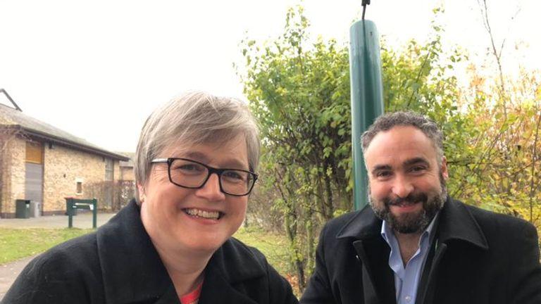 Green Party AM Caroline Russell and MEP Scott Ainslie