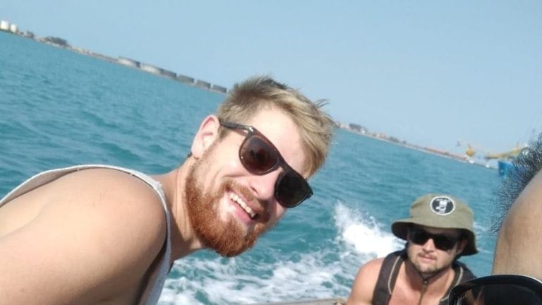 Harry Evans died after being bitten by a snake on a prawn trawler. Pic: Facebook