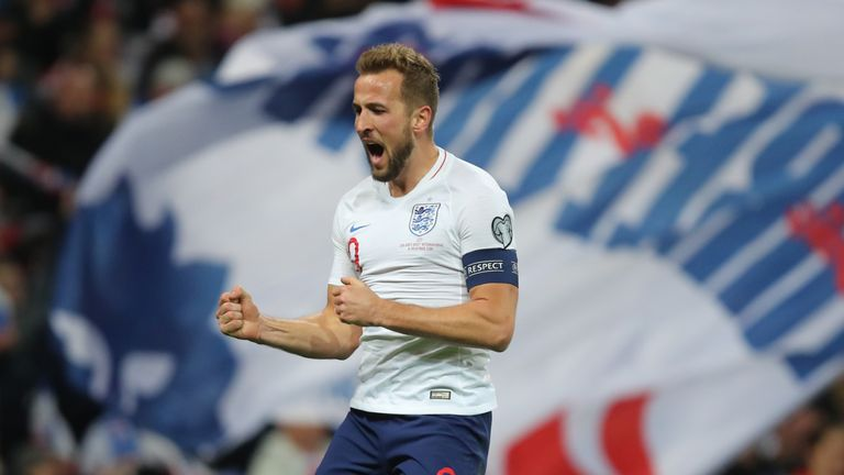 Harry Kane scored a hat-trick to help England qualify