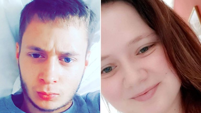 Haydon Croucher, left, has died nine months after his sister Leah, right, was last seen