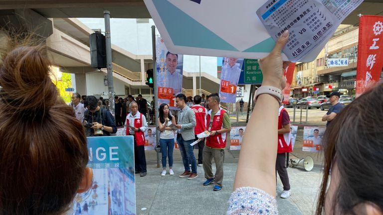 Hong Kong election