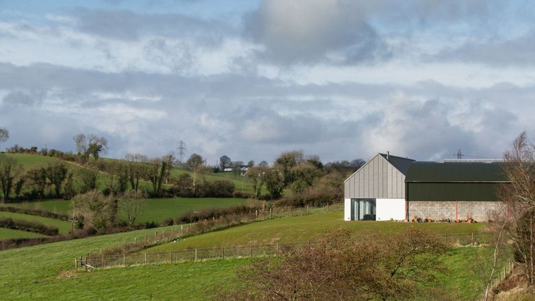 It boasts views of the rolling countryside in Co Down