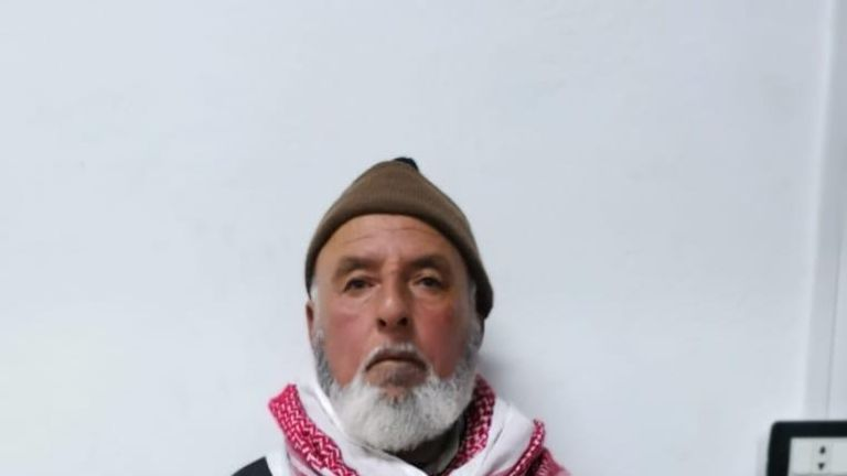 A man, believed to be the husband of Rasmiya Awad