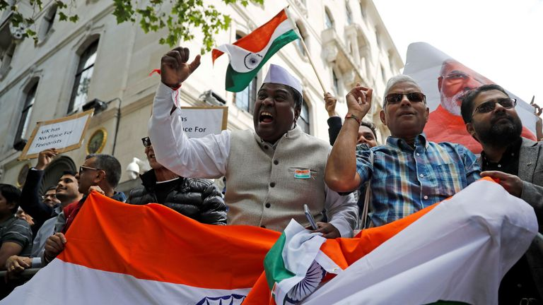Indian nationalist party to campaign in UK against Labour