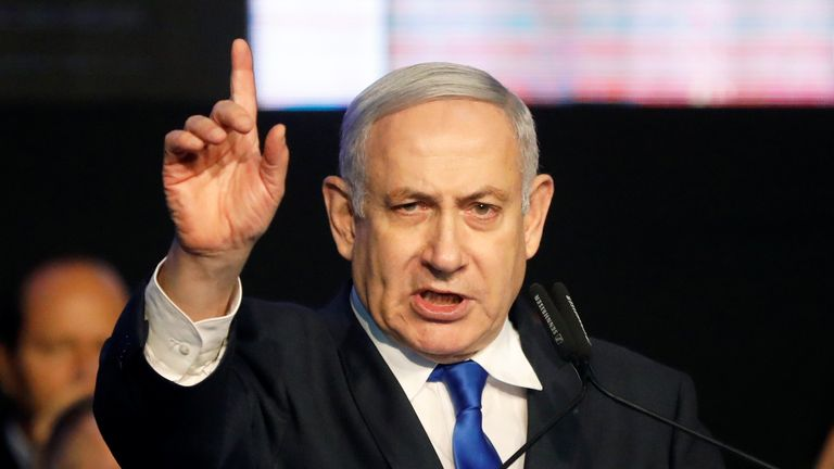 Prime Minister Benjamin Netanyahu failed in October, to form a government