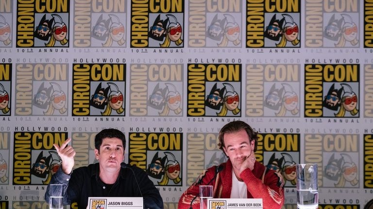 Jason Biggs and James Van Der Beek both appear in Jay And Silent Bob Reboot