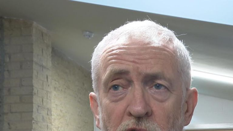 Jeremy Corbyn says the criminal justice system should be investigated after an attack was committed on London Bridge by a known terror offender
