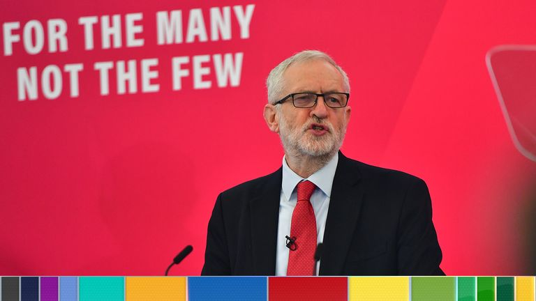 Jeremy Corbyn launched Labour's broadband policy on Friday