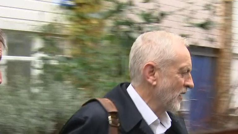 Jeremy Corbyn does not respond to question about Chief Rabbi's intervention