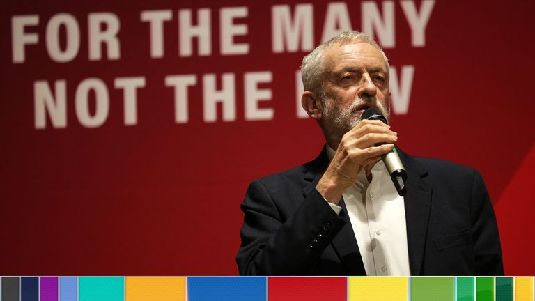 Jeremy Corbyn will make the announcement in a speech on Friday
