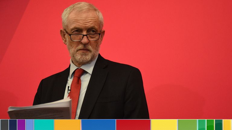 Jeremy Corbyn is thrashing out the final details of the Labour manifesto