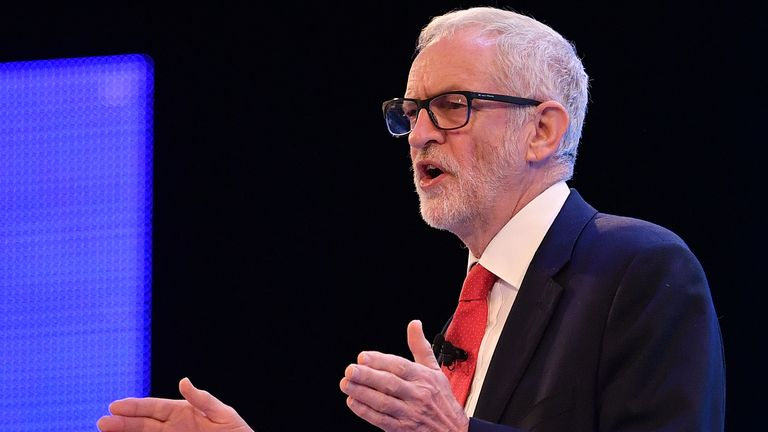 Corbyn emphasises 'green industrial revolution' at CBI conference