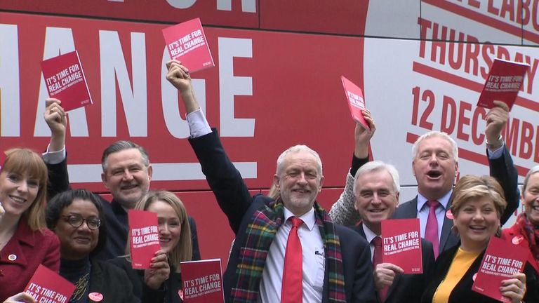 Labour is launching their 2019 manifesto in Birmingham