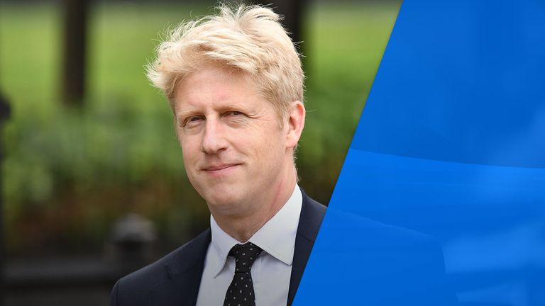 The prime minister's brother Jo Johnson has announced he is standing down