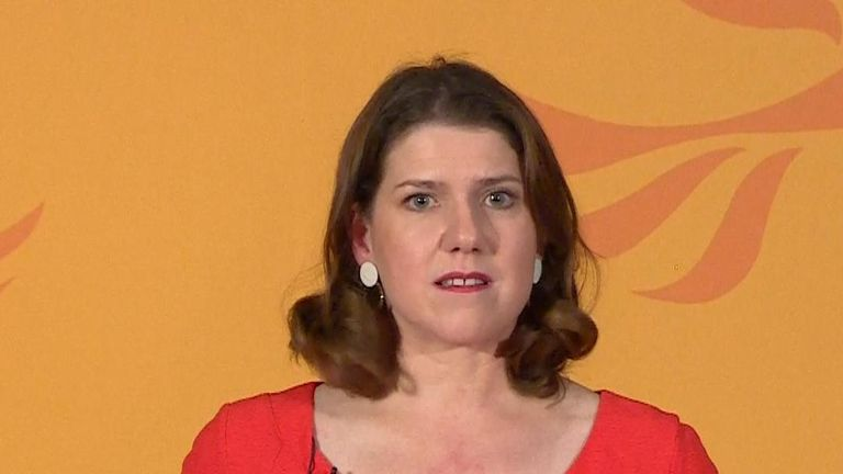 Jo Swinson launches the Liberal Democrats election campaign