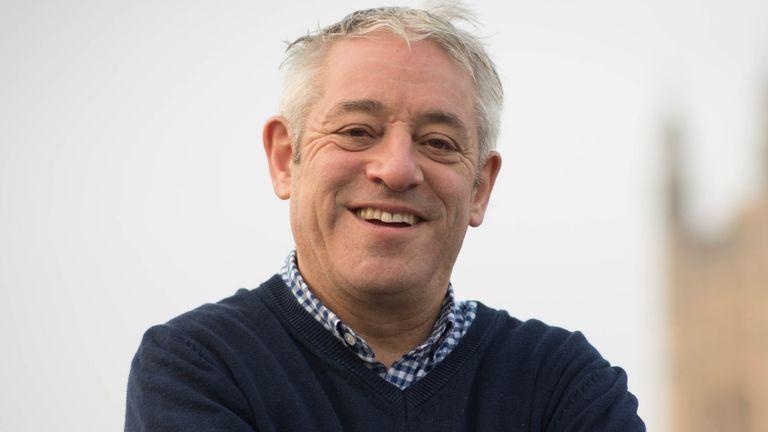 Former speaker John Bercow