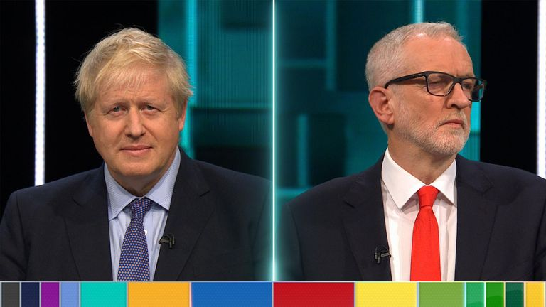 Boris Johnson and Jeremy Corbyn go head-to-head on ITV