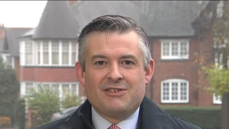 Labour's Jon Ashworth on Sophy Ridge on Sunday.