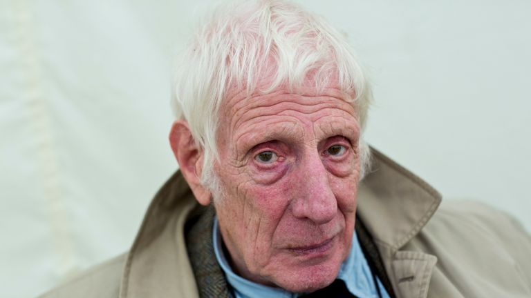 Jonathan Miller pictured at The Times Cheltenham Literature Festival in 2013