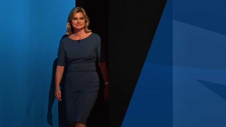 Justine Greening was a rising star of the Conservative Party