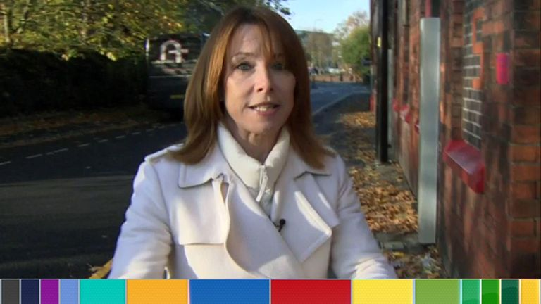 Kay Burley in Wigan