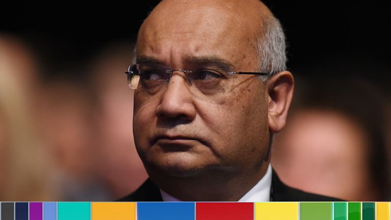 Former Labour MP Keith Vaz