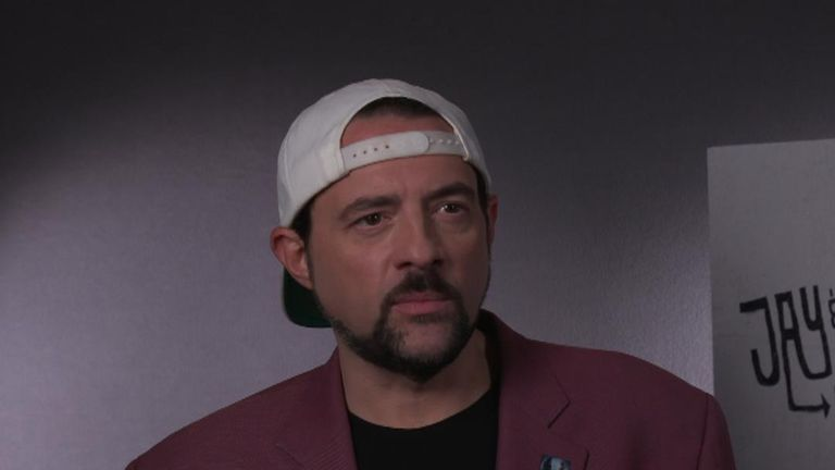 Kevin Smith says his heart attack was a casting agent for his new movie