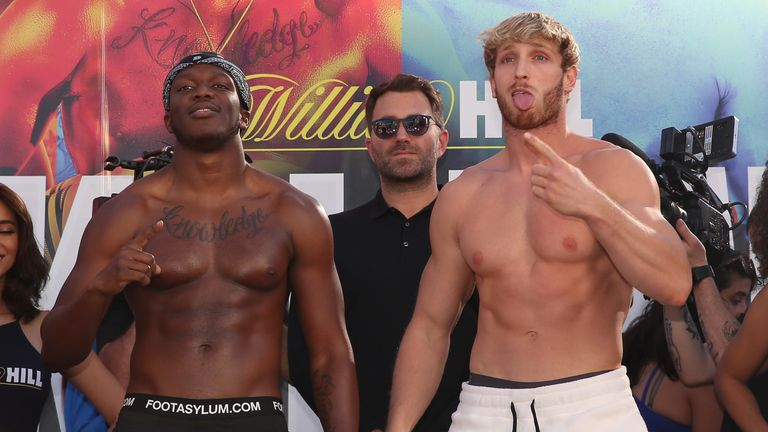 Millions are expected to watch the fight between KSI and Logan Paul