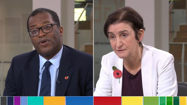 MPs Kwasi Kwarteng and Nia Griffith