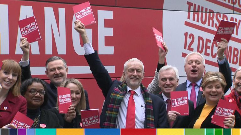 Labour is launching its 2019 manifesto in Birmingham
