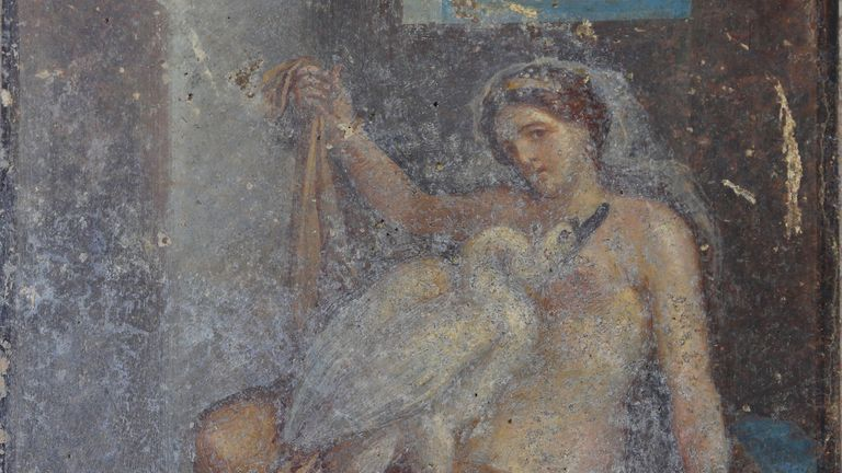 The artwork is particularly well-preserved