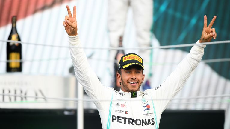 Lewis Hamilton is within touching distance of another F1 championship title